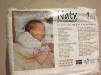 Naty nappies size 1 2x26pieces