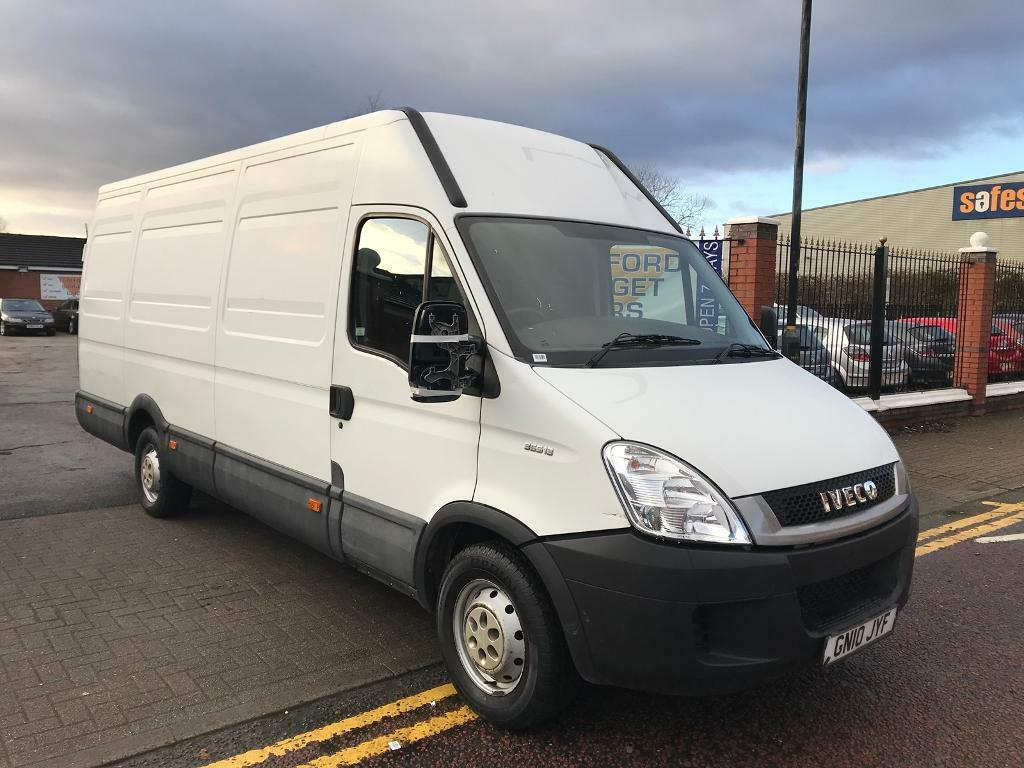 iveco daily 2010 lwb high top low miles big van good runner cheap in old trafford. Black Bedroom Furniture Sets. Home Design Ideas