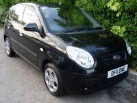 2011 KIA Picanto 1.0 Spice 5dr LOW MILEAGE - CHEAP TAX @ £30 Car Finance