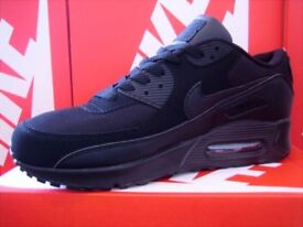 Brand new in box NIKE AIR MAX 90 **TRIPLE BLACK** Click for more images & details