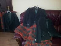 Pipe band uniforms