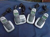 BT Freelance XD8500 Cordless phone telephone digital home answering machine