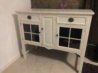 SHABBY CHIC FRENCH DRESSER BUREAU DESK CABINET CONSOLE TABLE FARROW AND BALL