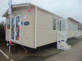 Open Plan DG/CH Family Caravan on North Wales Beachside Location !!
