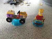 Lego dimensions Bart Simpson