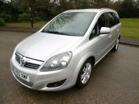 Vauxhall Zafira DESIGN CDTI FULL SERVICE HISTORY (star silver metallic) 2012