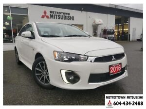 2016 Mitsubishi Lancer SE Limited; Bluetooth, rearview camera, m