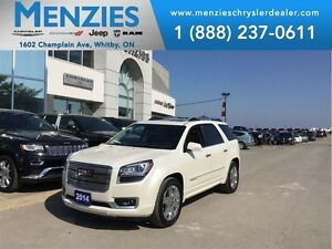 2014 GMC Acadia Denali, Navi, Bluetooth, Sunroof, Clean CARPROOF