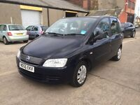 2006 FIAT MULTIPLA 6 SEATER not rodius jeep land rover zafira touran voyager 7 seater ml