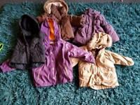 Girls coat bundle age 1-3 years