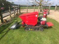 Hinowa H850 tracked barrow/dumper self load No VAT