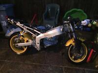 Kawasaki zx6r j frame. ZX6R track bike race bike