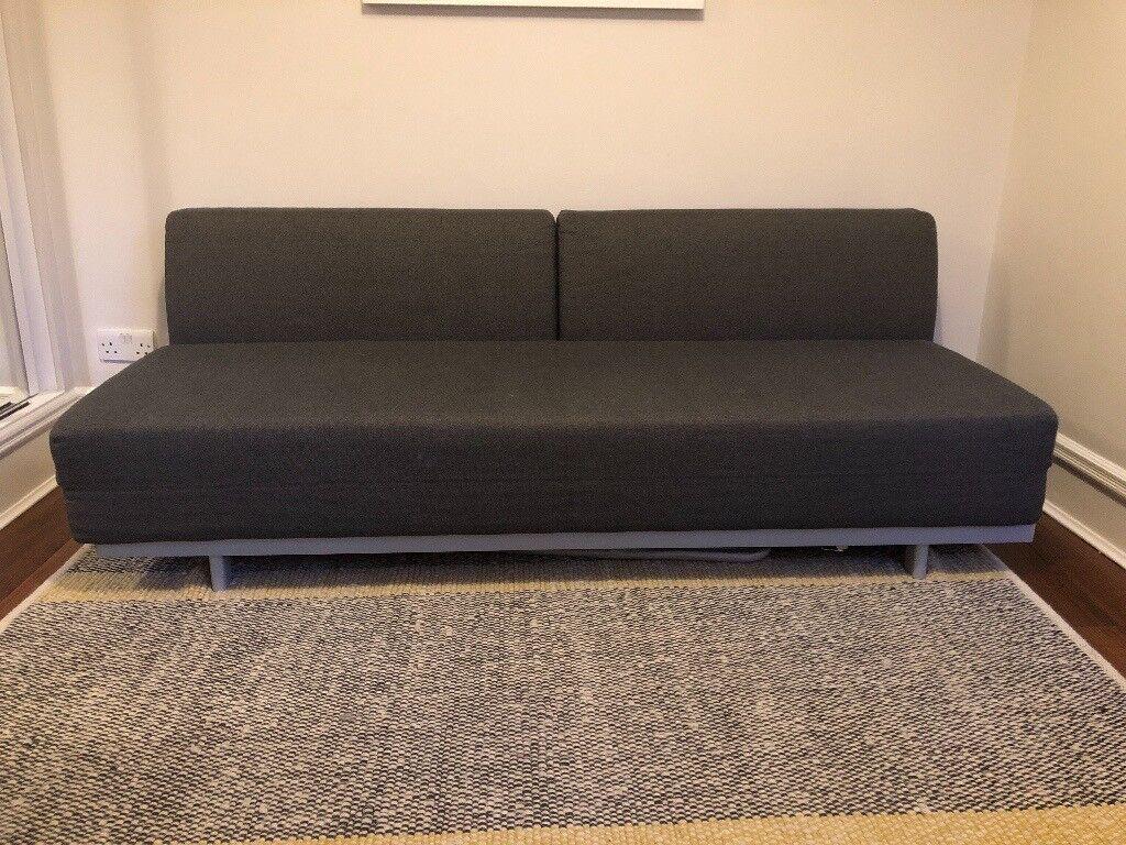Tremendous Muji T2 Sofa Bed In Charcoal In Angel London Gumtree Machost Co Dining Chair Design Ideas Machostcouk