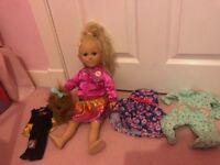 My Life as Jojo Siwa Doll 18in With Bowbow Plush Dog