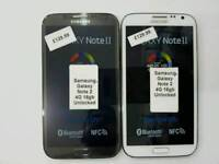 Brand New Samsung Galaxy Note 2 4G 16gb Unlocked Open To All Networks All Colours Available
