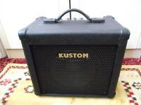 Kustom KBA10 Bass Guitar Amp ( 10W bass combo practice amplifier )