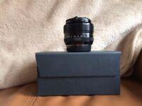 fuji x-mount fujinon xf 35mm f/1.4