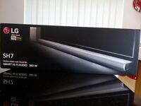 LG SH7 Sound Bar **BRAND NEW - In Unopened Box** 4.1 and Wireless Sub-Woofer 360W