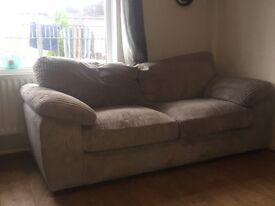 Cosy and stylish sofa, less than a year old