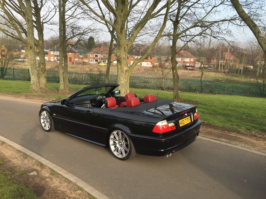 Bmw E46 330ci Convertible Red Leathers Coilovers 19s In