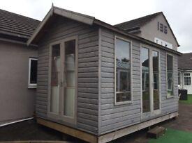 Wooden Summer House / Garden Room / outside Office