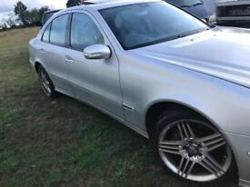 Mercedes e500 v8 with airmatic