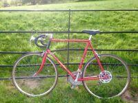 Vintage Raleigh Ace Road Bike