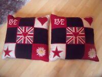 Cushions- 2 Jan Constantine cushions