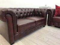 Chesterfield couch 2 seater