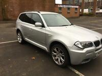 BMW X3 m///sport 2.0 Turbo diesel 4X4 Xdrive 09 reg mint condition inside & out