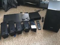 Sony BDV-5200W Blu Ray Surround Sound 5.1 Wireless