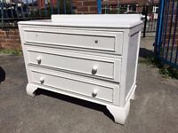 Pine Chest Of Draws - Very Solid & Heavy - Paint Project ? - Reduced