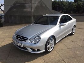 Mercedes CLK 200k AMG Sport - Great condition and long MOT