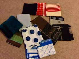 Selection of Lades Scarves