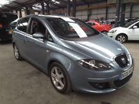2005(05)SEAT TOLEDO 2.0 TDi SPORT MET BLUE,6 SPEED,140BHP,2 OWNER,CLEAN CAR,GREAT VALUE