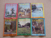 6 Caravan Club En Route magazines