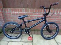 DK Six Pack BMX ,finished in satin black, refurbished with several new parts
