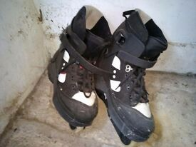 Anarchy Chaos 3 Aggressive Skates, Size 12 (for size 10 feet). Barely used.