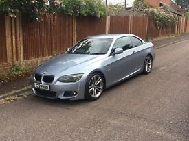 BMW 320D M SPORT AUTO CONVERTIBLE 2010, GREAT CAR, GREAT SPEC, PART EXCHANGE TO CLEAR