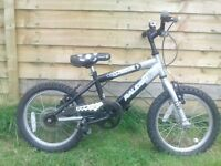 RALEIGH STRIKER CHILDS BICYCLE