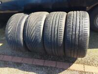 BMW M3 E92 Tyres 245/35/19 & 275/30/19 Full Set