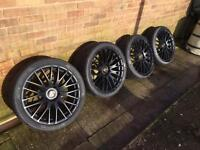 Porsche wheels and tyres