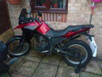 2008 Derbi Terra 125cc 4 stroke water cooled enduro bike with 15bhp very good condition long MOT
