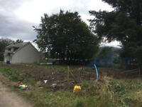 Building Plot for Sale with Full Planning Permission for Four Bedroomed Family Home, Gartly