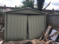 Big tin garage for sale