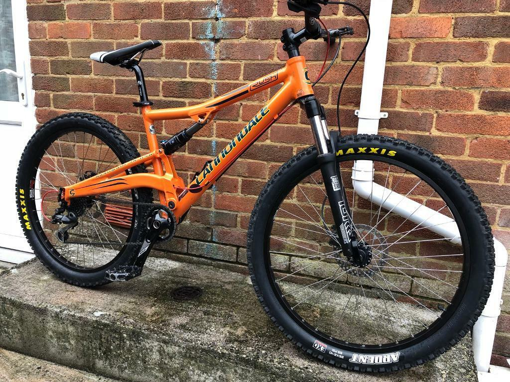 Cannondale Rush Full Suspension Mountain Bike Will Post In