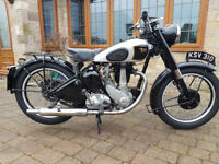 BSA B31 Matching frame and Engine