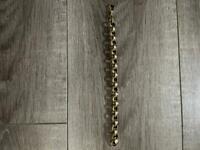 Belcher bracelet 9ct gold