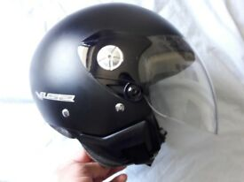 LS2 midway open face crash helmet