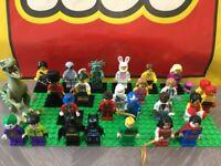 Genuine Lego Minifigures - Collectable Series / DC / Marvel / Jurassic / Ninjago
